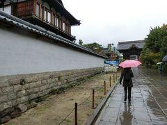 善光寺に向かって歩きます。