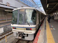 京都駅に到着~ 京都から奈良線で奈良へ向かいます。  京都8:02-奈良9:12