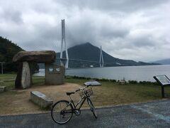 ここにあるのが「サイクリストの聖地」の記念碑。何故にここが聖地なのかは知りませんが外せません(笑)