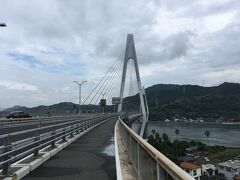 生口島と因島を結ぶ生口橋は全長790m