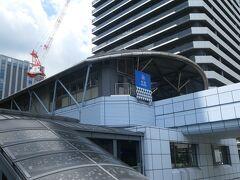 すぐそばの竹芝駅に向かいます。