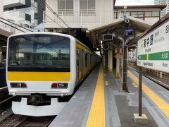 東中野駅へ。