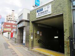 到着したのは東京メトロ地下鉄赤塚駅。 駅を出るとすぐそばに東武東上線下赤塚駅もあります。