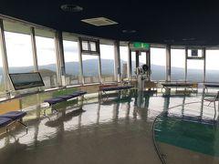 展望台は、昭和の香りのする面白い施設でした。 この展望台、360度回転しています。。。
