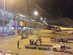 予定よりも早く関西国際空港に到着しました。