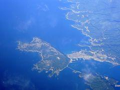 潮岬辺りを最後に、「種子島が遠望」とアナウンスがあるまで太平洋の上を飛んだようです。