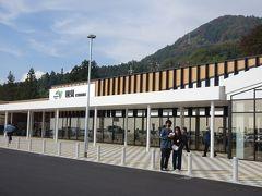 9月29日にリニューアルオープンした国見SA(下り) 駐車場はまだ工事中でした。