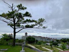 平和祈念堂が高台にあるので、周辺の景色を眺めることができます。  あいにくの雨で、見晴らしはいまいちだったのですが、晴れていたらよりステキな景色が見えたはず!