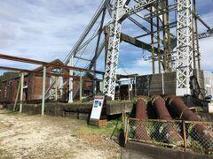15:25 宮原抗に到着。宮原抗は明治31年に七浦抗、宮浦抗に続く3番目の炭坑として操業を開始し、三池炭鉱出炭量の20%を超えた時期もありました。しかし効率の良い新炭坑が開抗したことで、昭和6年に閉抗しました。