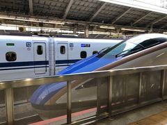 東京駅から、北陸新幹線「あさま」で軽井沢へ出発。