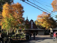 チャーチストリート軽井沢の先にある、聖パウロカトリック教会。