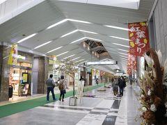 東京駅から1時間余りで、軽井沢駅に到着。 軽井沢では紅葉祭りが開催中でした。