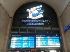 マンハイム駅 6:00 乗降客がほとんどいないとても静かな早朝