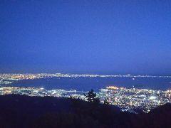 夜景がキレイ 寒いけど見る価値ありです!