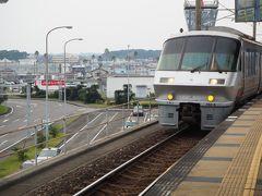 空港内タイムズデポで、マツダ2を返却。 宮崎駅からシーガイアの予約タクシー(@2300)を手配してあるので、 JR九州に乗車 30年振りにType783HyperSaloonに乗りました (にちりんシーガイア2号博多行きです) 宮崎空港?宮崎は乗車券のみで乗れます(@360)