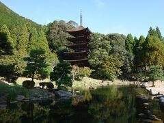 瑠璃光寺にやってきました。