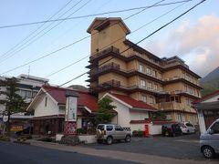 本日の宿・津和野温泉宿わた屋に到着。 津和野で唯一の温泉宿です。