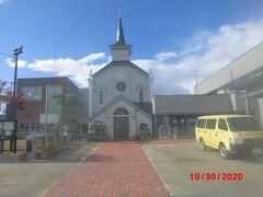 弘前カトリック教会。