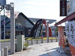 栃木駅まで戻りました。さて、1時間も何をしよう…