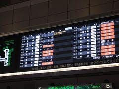 どこでもマイルを申し込んだらこんな遅い時間の「鹿児島」 羽田発18:00のJALに乗って鹿児島へ向かいます 今回の旅1日目は移動のみ