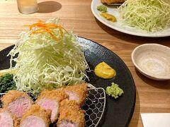 とんかつ光(あかり) 九州ブランドの三元豚トンカツ   今回もたくさん食べた旅でした 走行距離は約950キロ