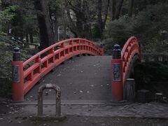 空堀に架かる祗園橋