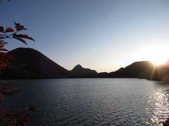 榛名湖の日の出!