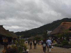 次に向かった先は120キロほど離れた福島県の大内宿。 2時間半走りました。