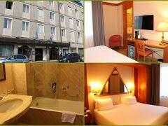 """宿泊ホテルは駅から徒歩4分の""""NH Ravenna""""  ラヴェンナの観光名所はほとんどが徒歩圏内です。"""