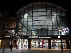 JR高松駅。 ホテルは駅の目の前です。