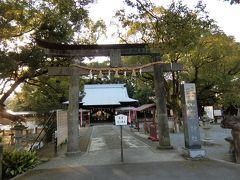 最後は諫早神社。  諫早駅に戻り、長崎空港に向かう。19:20発 羽田20:55分着