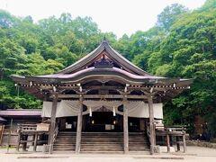 戸隠神社中社。