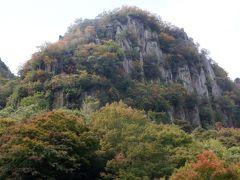 猿が群がっているように見えることから郡猿山と言うそうです。その他犬岩など岩のそっくりさんがある展望台でした。