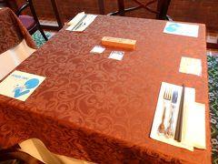 朝食はレストラン シャモニーで。 しかも昨夜の夕食と同じテーブルでした。