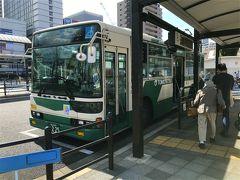 旅行4日目、尾道から福山へ電車で移動し、11時頃到着! 福山駅構内にあるお土産屋さんで地域共通クーポンを使い切り、 荷物は駅にあるコインロッカーへ。  鞆の浦行きのバスに11時半過ぎに乗り込みます。