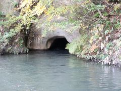 戊辰戦争時、戸ノ口腹で敗れた白虎士中二番隊が潜った洞窟だそうです。
