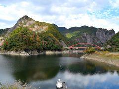 右手に日本一大きい「ハート岩」が見えます