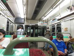 18:42 快速マリンライナーで岡山へ ※児島駅から直接倉敷駅に向かうことができる路線バスがありますが、時間もかかるのでやめておきました