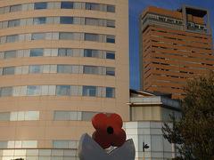 JRホテルクレメントの前にもオブジェ。