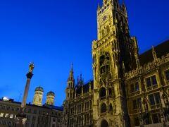 市庁舎の南にある市場と大聖堂をブラりとして、21:00に昨晩のリベンジ。