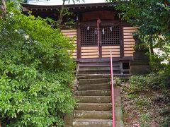 御霊神社(長尾氏居館跡)