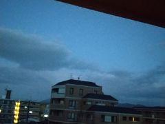 2日目の朝です。 お天気で良かった♪