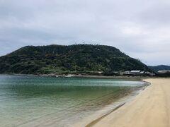 中村海水浴場。