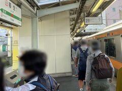福生駅に向かいます。