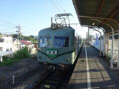 今度の電車はこれ。 元南海高野線の通称「ズームカー」と呼ばれていた電車。