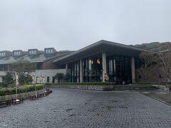 豊臣秀吉が朝鮮出兵の本拠地として気づいた名護屋城跡に建つ名護屋城博物館。