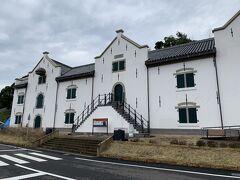 名護屋城跡から平戸にきてまずは「平戸オランダ商館」に。日本初の洋風建築物の平戸オランダ商館の倉庫を復元。