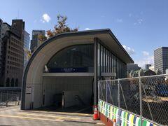初めての駅です。