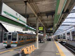2駅目が栃木駅です。 ちなみに東武日光線の駅でもあります。