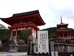 昨日は、通りをブラブラしただけなので、久し振りに清水寺へ。 数年ぶりかしら? それでも、季節ごと定期的に訪れているので、10回目くらいかな。